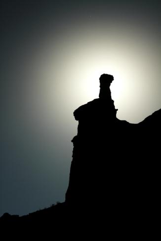Hoodoo at Capital Peak - Palo Duro Canyon 2AM-114814_7D_blog