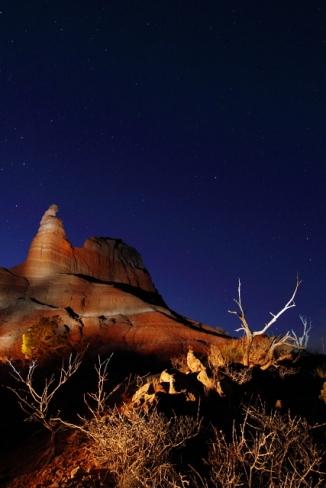 Hoodoo at Capital Peak - Palo Duro Canyon 2AM-114844_7D_blog
