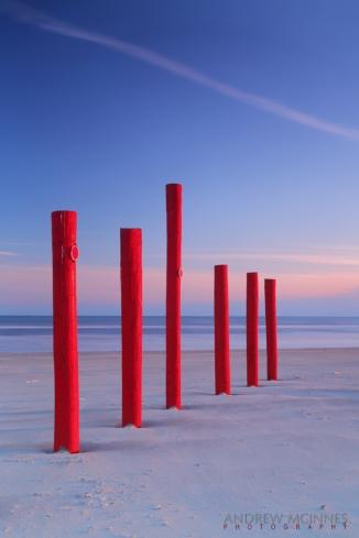 Red Posts - Galveston Island 2AM-001570-5D-Mark-III