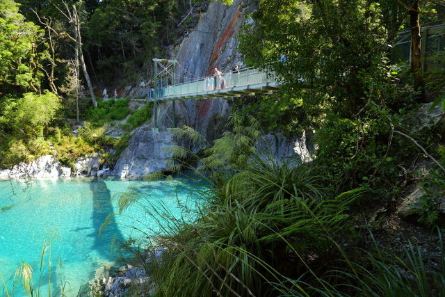 Blue Pools - Makarora River 2AM-000914. ©Andrew McInnes