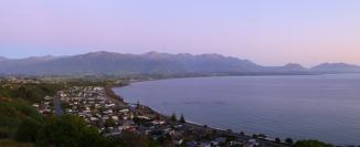 Kaikoura 2AM 0407-0409 Panorama. ©Andrew McInnes