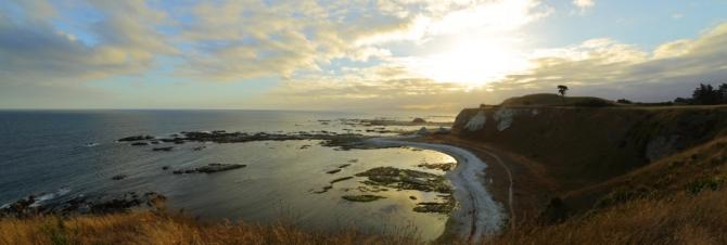 Kaikoura Peninsula 2AM 0348-0351 Panorama. ©Andrew McInnes