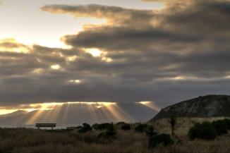 Kaikoura Peninsula 2AM 0356-0358 HDR. ©Andrew McInnes