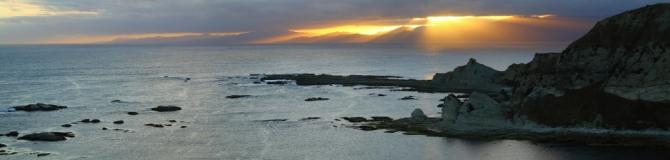Kaikoura Peninsula 2AM 0374-0377 Panorama. ©Andrew McInnes