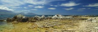 Kaikoura Peninsula 2AM 0458-0460 Panorama. ©Andrew McInnes