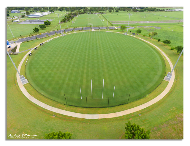 AFL and NRL footy fields, Queensland    Andrew McInnes
